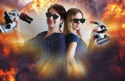 Ольга Семенова и Яна Стороженко